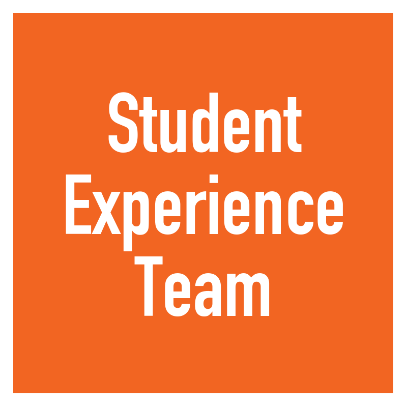 Student Experience Team